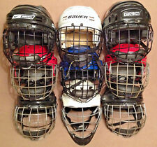 Football Paintball Hockey Lacrosse Helmet Cage Mask Bears Jets PMI Bauer Brine