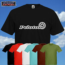 PELOTON Tshirt Cycling Tour de France Bike Race Various colours Sizes S-XXL