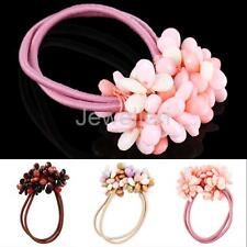 Hair Band Elastic Ponytail Hair Holder with Beads Accessories For Women