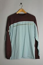 Quiksilver Mens 100% Cotton Long Sleeve Top T Shirt Print On Chest And Arms