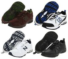 NEW BALANCE Men's Leather Sneakers Cross Training Shoes, Medium, Wide, X Wide 4E