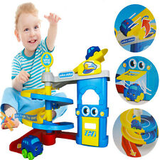 NEW KIDS POLICE STATION CARS PARKING GARAGE SOFT TOY CHILDREN PLAY SET XMAS GIFT