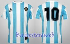 THE ORIGINAL! ARGENTINA jersey WC Mexico 1986 home #10 MARADONA Le Coq Sportif