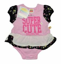 NWT HARAJUKU MINI 'TODDLERS' BY GWEN STEFANI SUPER CUTE PRINT PEPLUM ONSIE PINK