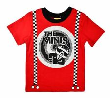 NWT HARAJUKU MINI 'TODDLERS' BY GWEN STEFANI MINIS PRINTED TEE SOLID RED/BLACK