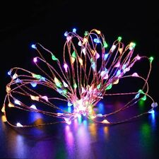 3X Battery String Lights 6FT 20 LED Fairy Xmas  Halloween Copper Wire Rope Light