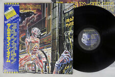 IRON MAIDEN SOMEWHERE IN TIME EMI S33-1003 Japanese Pressing OBI Vinyl 2LP