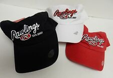 VTG RAWLINGS YOUTH Baseball Cap Hat W Velcro -New with tags -Salesman Samples