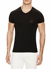 Versace collection Medusa V-Neck T-Shirt nwt and box