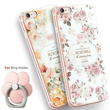 Soft TPU Rubber Gel Silicone Phone Case Cover For Apple iPhone 4S 5S 6 6S 7 Plus