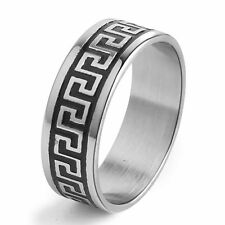 Stainless Steel Ring Mens Jewelry Size 8/9/10/11/12/13/14 Man Womens