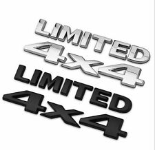 4X4 Limited Badge SUV Car Rear Sticker Emblem Fit For JEEP Cherokee Wrangler
