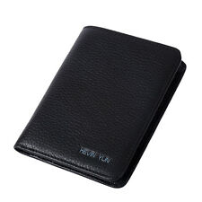 Men's Leather Bifold Wallet Slim Business Credit Card Holder Purse Pocket