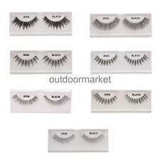Beauty Makeup Black Natural Long /Thick/ Cross False Eyelashes Fake Eye Lashes