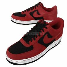 Nike Air Force 1 Red Black 2014 Mens Casual Shoes AF1 488298-619