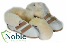 Slippers Sheepskin, Medical 100% Aus Sheepskin, Easy Access