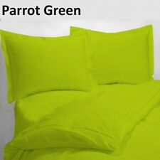 (PARROT GREEN SOLID) 1000TC COMPLETE BEDDING COLLECTION 100% COTTON ALL SIZE