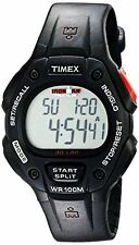 """Timex T5H581 Mens """"Ironman Traditional"""" 30-Lap Watch W/ Black Resin Strap"""