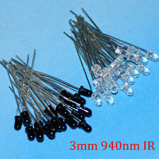 3mm 940nm IR Infrared LED Assorted Infrared Emitter And IR Receiver Diodes Kit