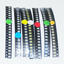 1206 SMD LED Diode Light Emitting Diod Mixed Red Blue Yellow White Green Orange