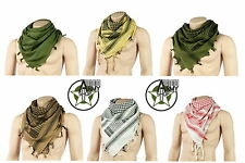 NEW PLO Shemagh Palestinian scarf Cloth Head Pali Neckerchief in Various Colours