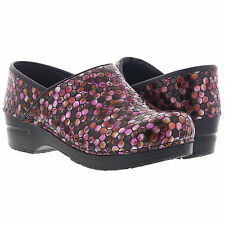 Koi by Sanita Womens Hex Clog (Printed Synthetic Leather) Nurse Shoe