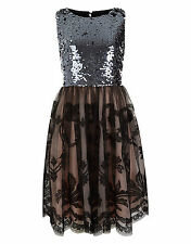 BNWT MONSOON STORM MARYSA THIS SEASON SEQUIN SPARKY PARTY DRESS AGE 14 YEARS