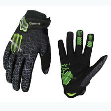 Mens MTB Full Finger Velcro Gloves Cycling Mountain Bike DH Motocross Racing