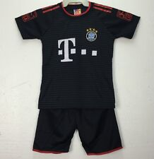 Bayern Munich Soccer Set Jersey Lewandowski Ribery Toddler Kids Top 3-5 Yrs Old