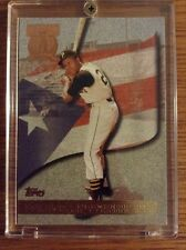 Lot Of 2 Topps Roberto Clemente Baseball cards, Mint Condition (See Scan)