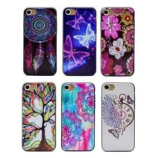 Beautiful Butterfly Flowers Trees Watch Soft Shell Case Cover Skin for iPhone 7