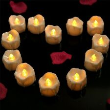 12/24pcs Battery Operated Led Candles Light Tea Light Flameless Flickering