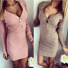 New Women Summer Bandage Bodycon Clubwear Evening Sexy Party Cocktail Mini Dress