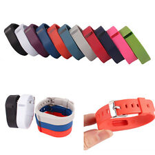 Replacement Wrist Band With Metal Buckle For Fitbit Flex Bracelet Wristband Cool