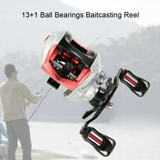 Optional 13+1BB Fishing Baitcast Reel Baitcasting Reel 6.3:1 Gear Ratio I6T5