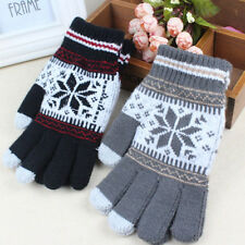 Unique Winter Gloves Knitted Touch Gloves Men Women Gloves Touch Screen Glove