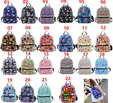Canvas Mini Backpack Rucksack Satchel Travel School Bag Girl Boy Kids Children