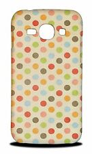 RAINBOW POLKA DOTS PATTERN #4 HARD CASE COVER FOR SAMSUNG GALAXY ACE 3