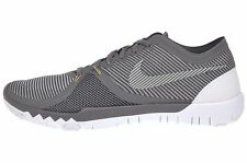 Nike Free Trainer 3.0 V4 Cross Training Mens Grey Shoes Sneakers 749361-007