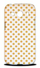 POLKA DOTS ORANGE FRUIT PATTERN HARD CASE COVER FOR SAMSUNG GALAXY ACE 4