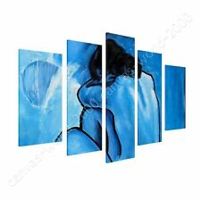 CANVAS +GIFT Blue Nude Pablo Picasso 5 Panels Painting Wall Art Posters