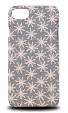 WINTER SNOW FLAKE PATTERN #5 HARD CASE COVER FOR APPLE iPHONE 7