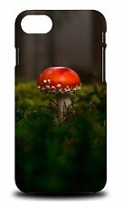 RED MUSHROOM PLANT #2 HARD CASE COVER FOR APPLE iPHONE 7