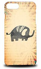 ELEPHANT WATERCOLOR ART #1 HARD CASE COVER FOR APPLE iPHONE 7 PLUS