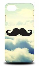 HIPSTER COLOURFUL MOUSTACHE #21 HARD CASE COVER FOR APPLE iPHONE 7
