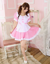 Sweet Lolita Cosplay Costume Princess Dress Gothic Sexy Maid Outfit Uniform