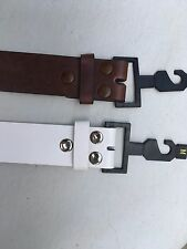 Men /Women's Classic Belts for buckles 3 Snaps for more secure  Buckle