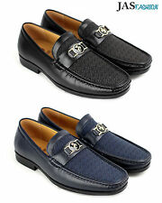 NEW Mens Slip On Casual Shoes Designer Loafers Smart Wedding Office Work UK Size