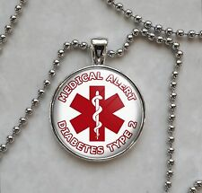 Choose Medical Alert Message Pendant Necklace