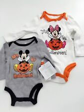 Disney Kid Girl boy Baby Minnie mickey mouse My 1st Halloween Costume Romper
